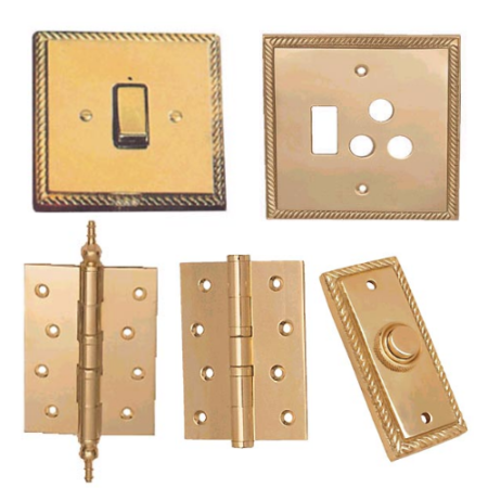 HINGES & SWITCH PLATES